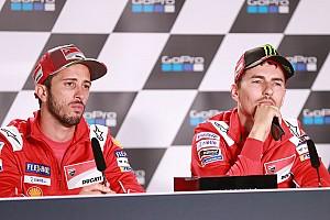 Lorenzo, yarışmaması hakkında yorum yapan Dovizioso'ya sert çıktı