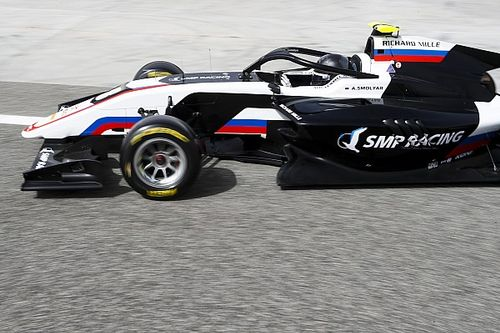 Smolyar topt eerste dag van Formule 3-test in Spielberg