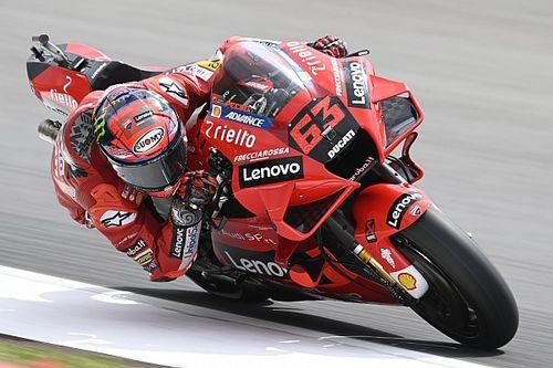 Report MotoGP: Bagnaia prende in mano la Ducati