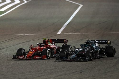 Ferrari sürücülerinin, Bahreyn GP'de sırasındaki pist sınırları yüzünden kafaları karışmış