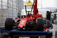 Vettel időmérője töréssel ért véget Oroszországban (videó)
