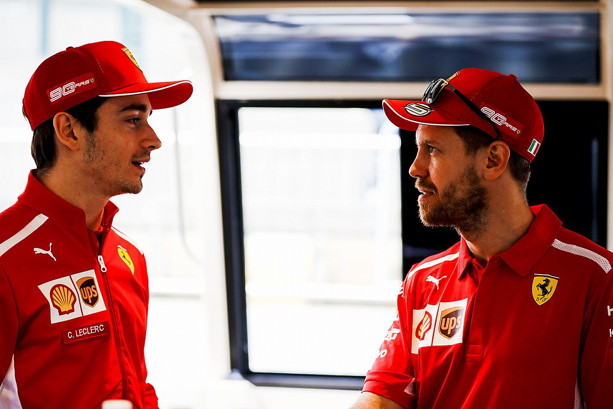 Leclerc's job is to get priority over Vettel