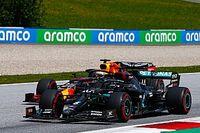 """Verstappen """"choqué"""" par la rapidité des Mercedes"""
