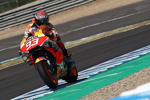 Test Jerez-Márquez devance Rins et Rossi à la reprise