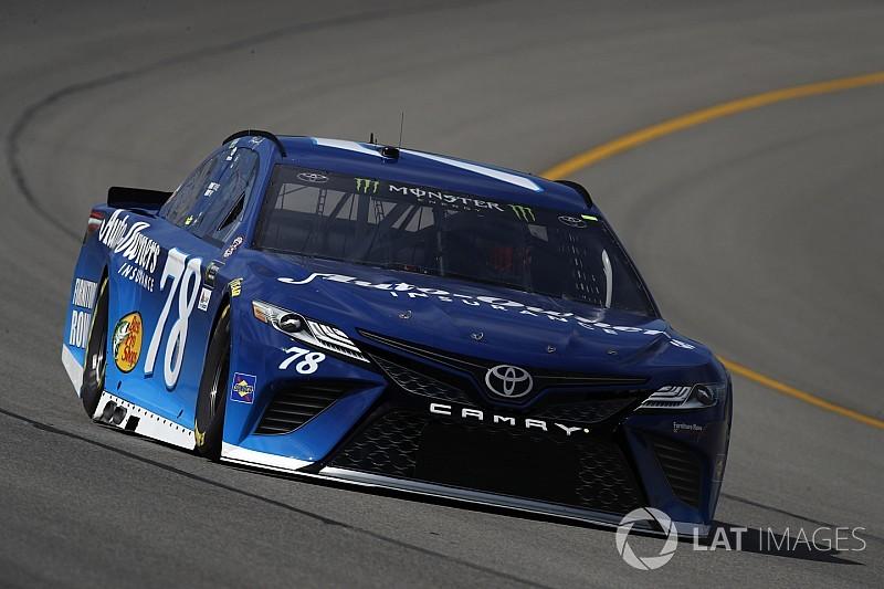 Truex tops second Michigan practice, Johnson spins