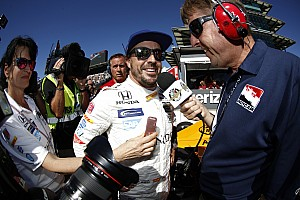 IndyCar Breaking news Alonso says overboost may have cost him front row slot