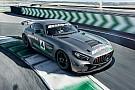 GT4 European Series Mercedes onthult nieuwe GT4-wagen