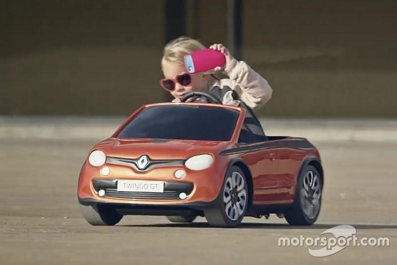 Vidéo - On s'amuse avec la Renault Twingo GT!