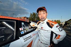 WRC 速報ニュース 【WRC2】育成ドライバーの勝田「佐藤選手のインディ優勝は刺激になる」