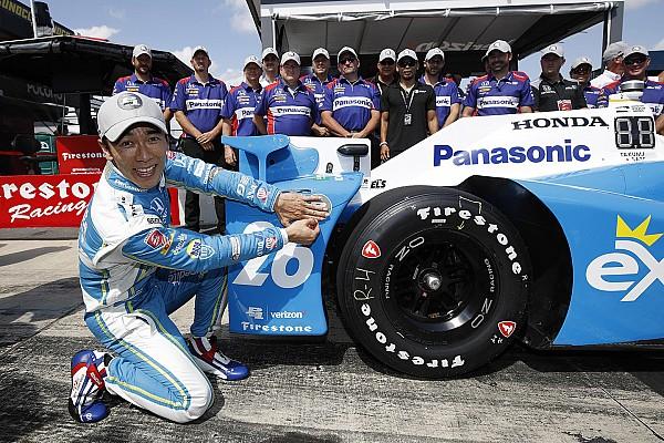 IndyCar Takuma Sato centra la pole position a Pocono