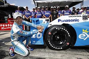IndyCar Pocono: Sato pakt pole, zware crash Hunter-Reay