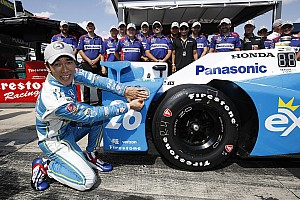 IndyCar Qualifiche Takuma Sato centra la pole position a Pocono