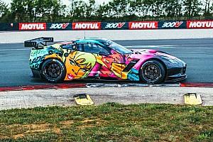 WEC BRÉKING Nem kérdés, ez a Corvette lesz a legfeltűnőbb autó Le Mansban