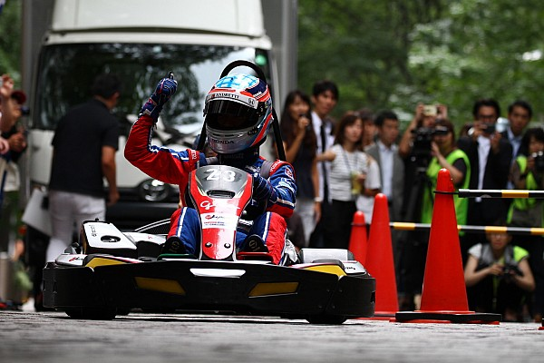 IndyCar 速報ニュース 丸の内で「TAKUMA KIDS KART CHALLENGE」開催予定。琢磨がデモラン