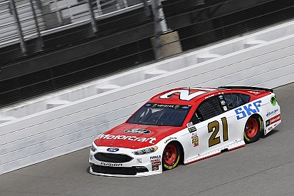 Ryan Blaney lideró la primera práctica en Michigan