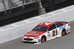 NASCAR Cup Reporte de prácticas Ryan Blaney lideró la primera práctica en Michigan