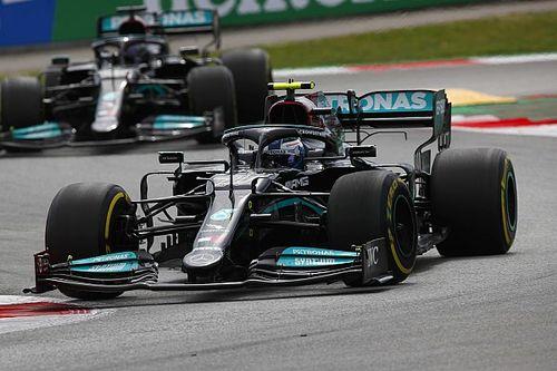 Bottas wilde race niet opofferen, Hamilton wist niet van teamorder