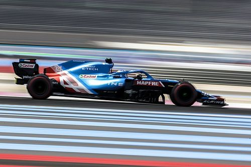 """Alonso terminó """"bastante satisfecho"""" con su cuarto puesto el viernes"""