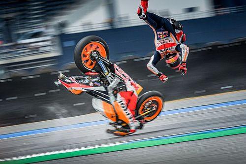Rossi Yakin Marquez Mampu Bersaing di Level Atas MotoGP 2021