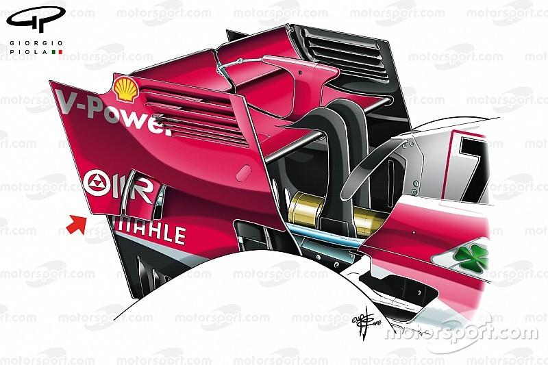 Análise técnica: Ferrari é a mais nova equipe a copiar McLaren