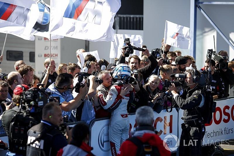 DTM Nurburgring: Rast üst üste ikinci kez kazandı, Di Resta podyuma çıktı