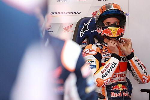 Touché à la main, Álex Márquez est incertain pour le GP de Valence