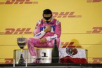 Pérez ya inició su trabajo en Red Bull y recuperó su trofeo de ganador
