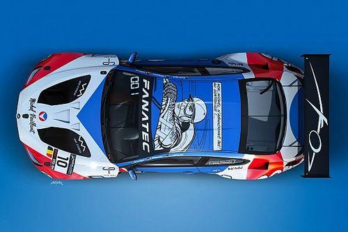 GTWC: c'è Michel Vaillant nella livrea Boutsen Ginion Racing