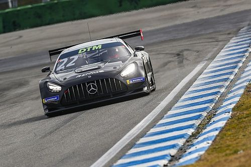 Auer, Mercedes fastest at Hockenheim as DTM test ends