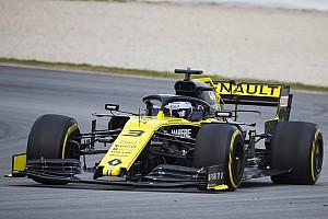 Renault: si era rotto il comando del DRS, risolto il problema all'ala mobile