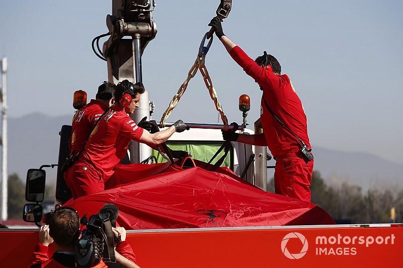 Ferrari cambia su plan de pruebas tras el accidente de Vettel