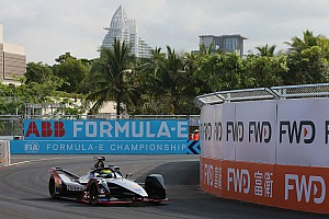 Rowland vê Buemi errar e conquista pole na China; Di Grassi larga em 10º