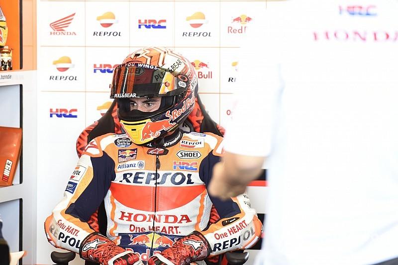 Angriff auf Rossi-Marke: Marquez nach Sturz über 50. MotoGP-Pole