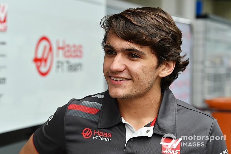 Fittipaldi rijdt voor Haas tijdens eerste F1-testweek
