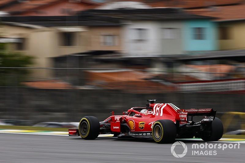 Formel 1 Brasilien 2018: Bestzeit für Vettel im Abschlusstraining