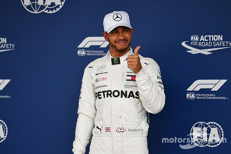 Brazilian GP: Hamilton beats Vettel to pole
