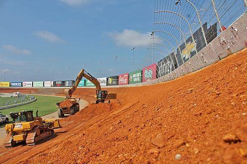 Reconfiguration of Atlanta Motor Speedway is well underway