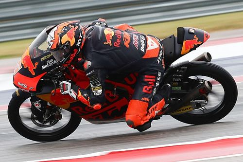 Moto3 Austin: 3. antrenmanlarda Masia lider, Deniz 10.