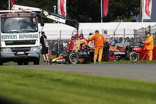 "Verstappen ""very happy"" with F1 car feeling despite FP2 crash"
