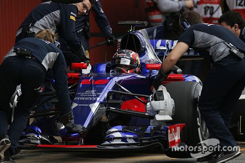 Toro Rosso компенсирует Квяту потерянное время