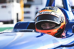 Indy Lights Qualifying report Leist takes pole for Freedom 100
