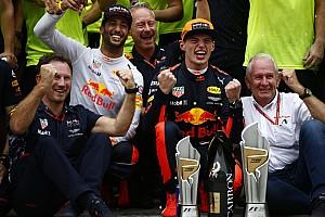 Formel 1 News Red-Bull-Teamchef: Max Verstappen nach Krise 2017 besserer F1-Fahrer