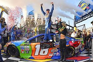 NASCAR Cup Reporte de la carrera Kyle Busch aparece al final e impide la primera victoria de Elliott
