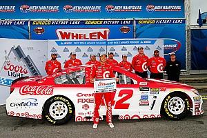 NASCAR Sprint Cup Crónica de Clasificación Larson logró en New Hampshire su cuarta pole en la temporada