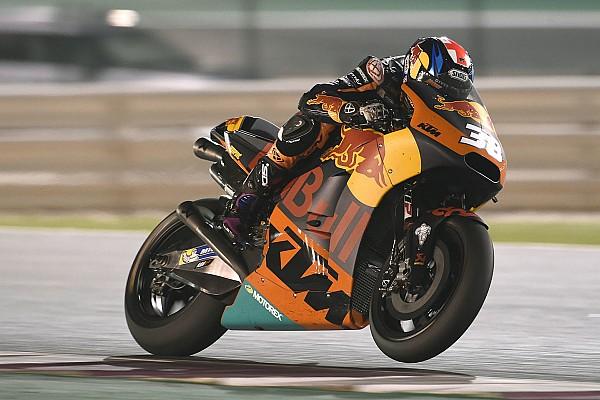 MotoGP В KTM не достигли цели своей первой гонки в MotoGP