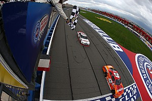 NASCAR Cup Commentary Penske-Ganassi rivalry spills over to NASCAR in California
