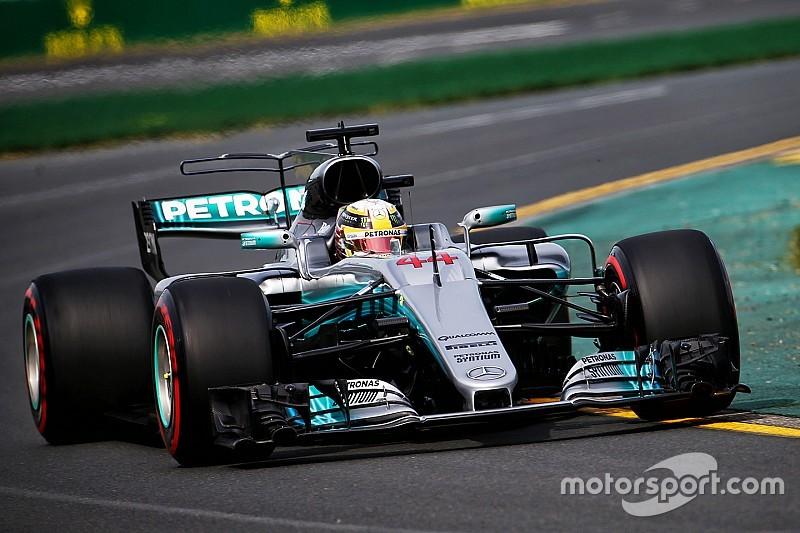 澳大利亚大奖赛FP1:梅赛德斯包揽一、二,红牛法拉利实力相当