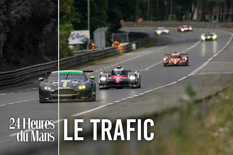 Dans la peau d'un pilote : le trafic au Mans