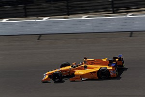 IndyCar Reporte de prácticas Vídeo: la destacada actuación de Fernando Alonso el jueves en Indy 500