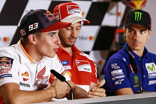 MotoGPライダー達、